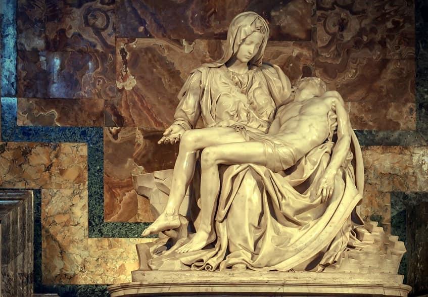 Пьета Микеланджело -фото