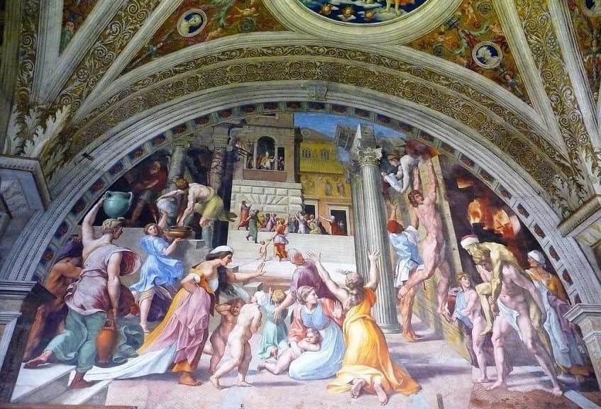 Станца дель Инчендио ди Борго - фото