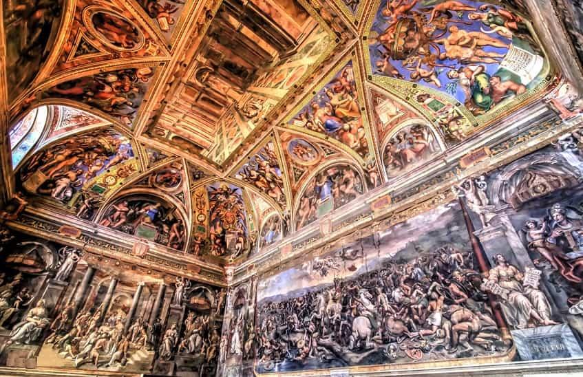 Станцы Рафаэля в музеях Ватикана - фото