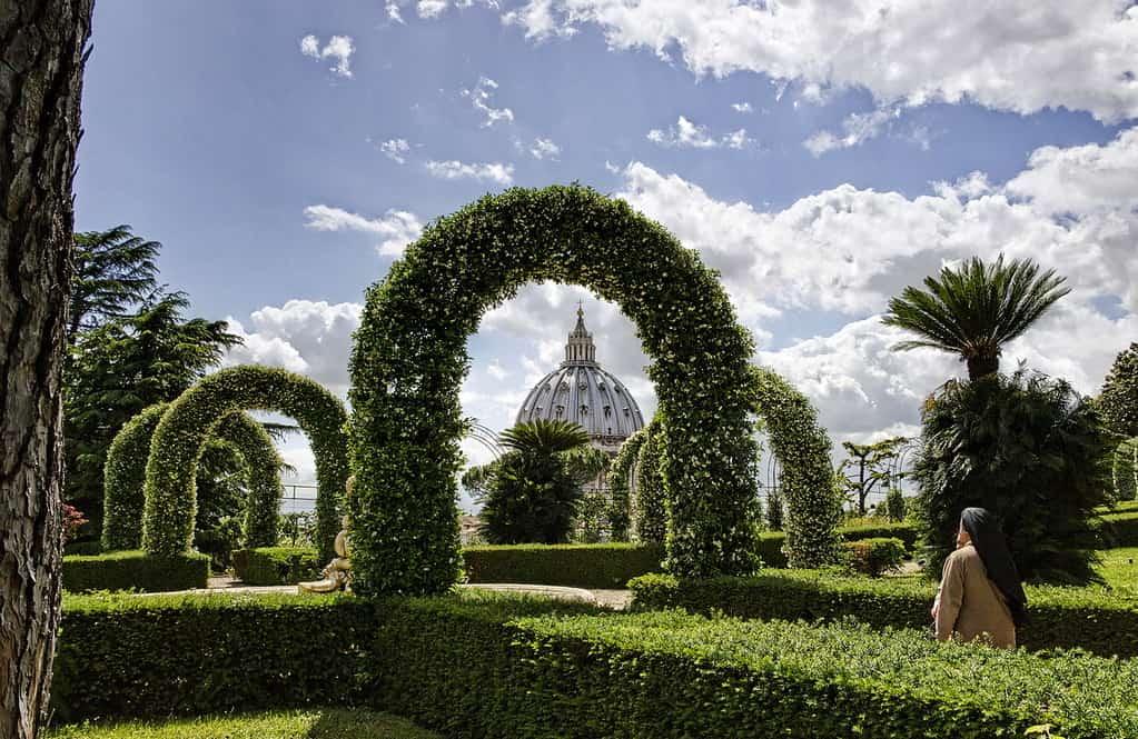 Ватиканские сады - фото
