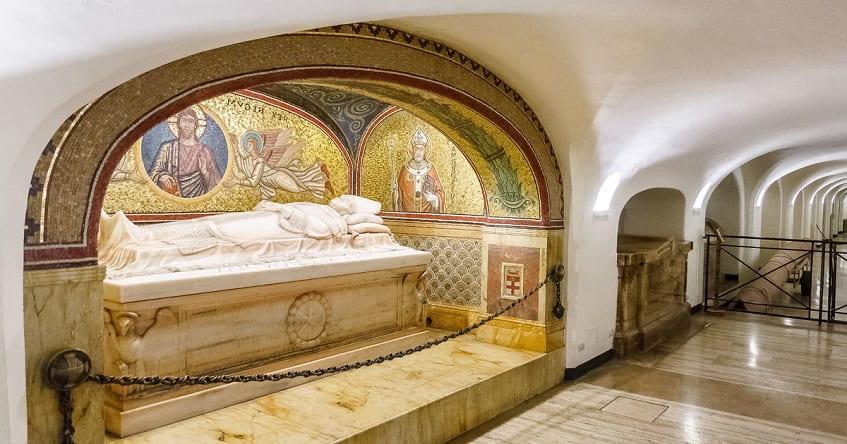 Гроты Ватикана - фото