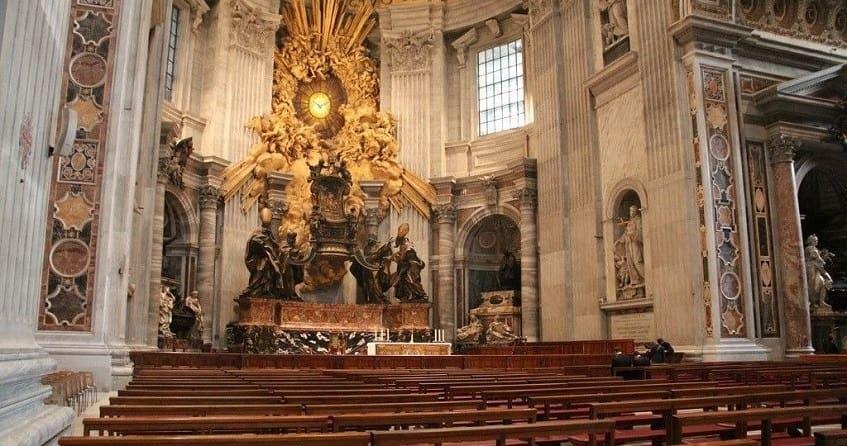 Кафедра Святого Петра - фото