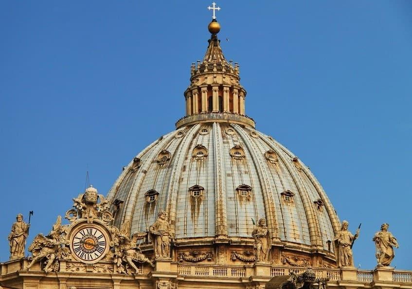 Купол собора Святого Петра - фото