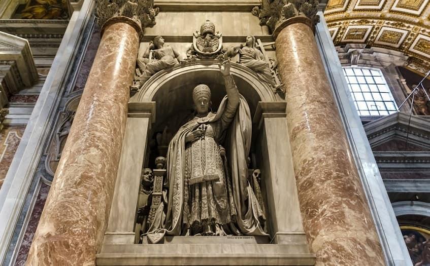 Памятник понтифику Льву XII - фото