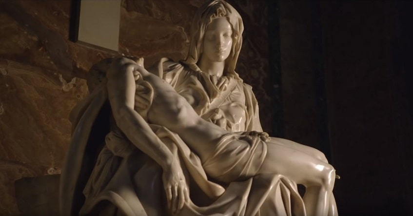 Пьета Микеланджело - фото