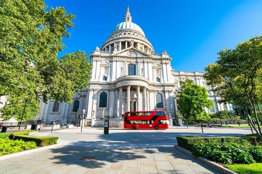 Собор Святого Павла в Лондоне - фото