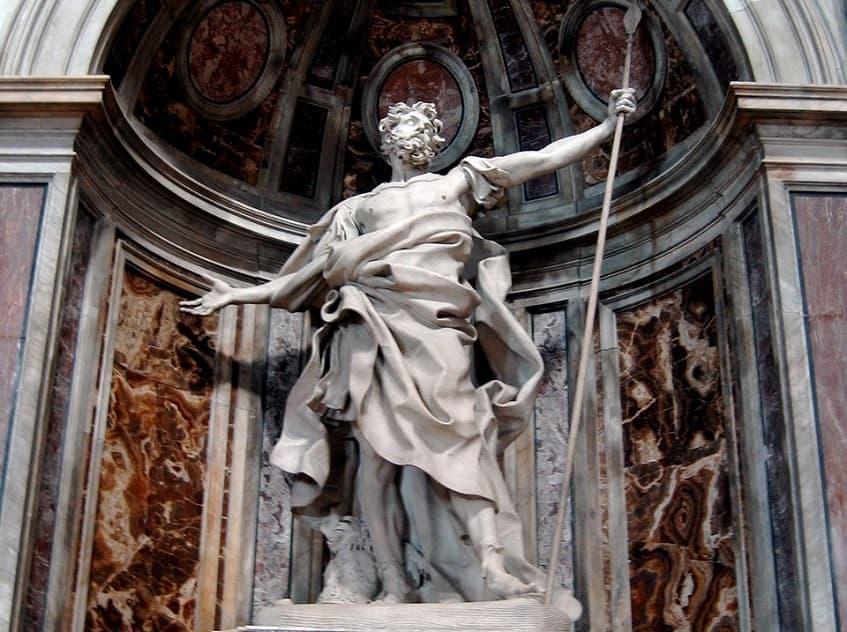 Статуя Святого Лонгина - фото