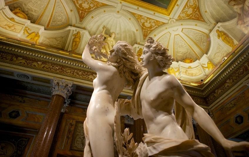 Аполлон и Дафна - фото