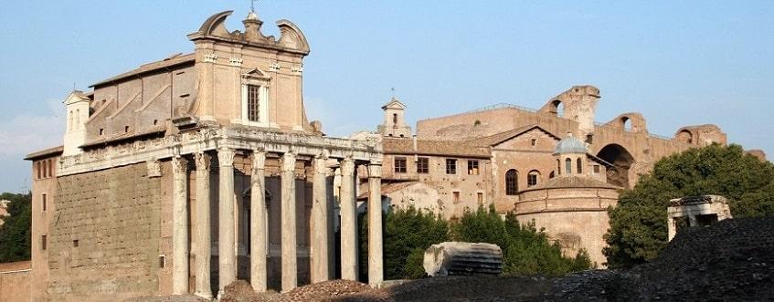 Храм Антонина и Фаустины - фото