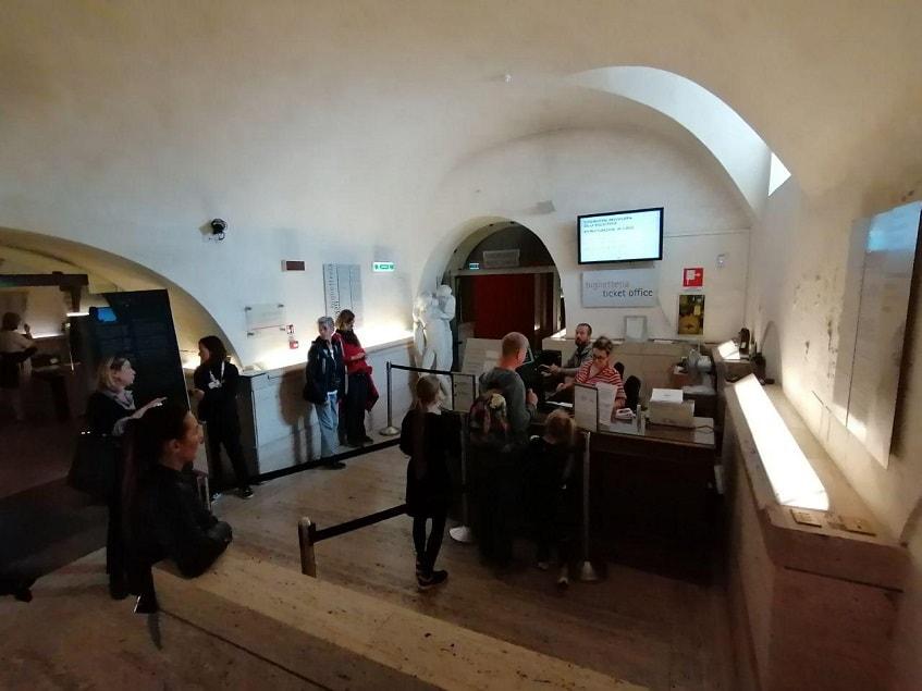Касса в галерее Боргезе - фото
