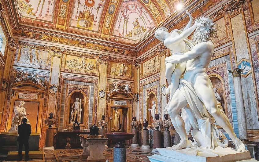 «Похищение Прозерпины» - зал императоров - фото