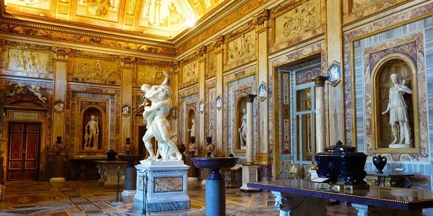 Зал императоров - Похищение Прозерпины - фото