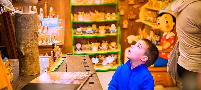 Лавка Папы Карло – магазин «Пиноккио» - фото