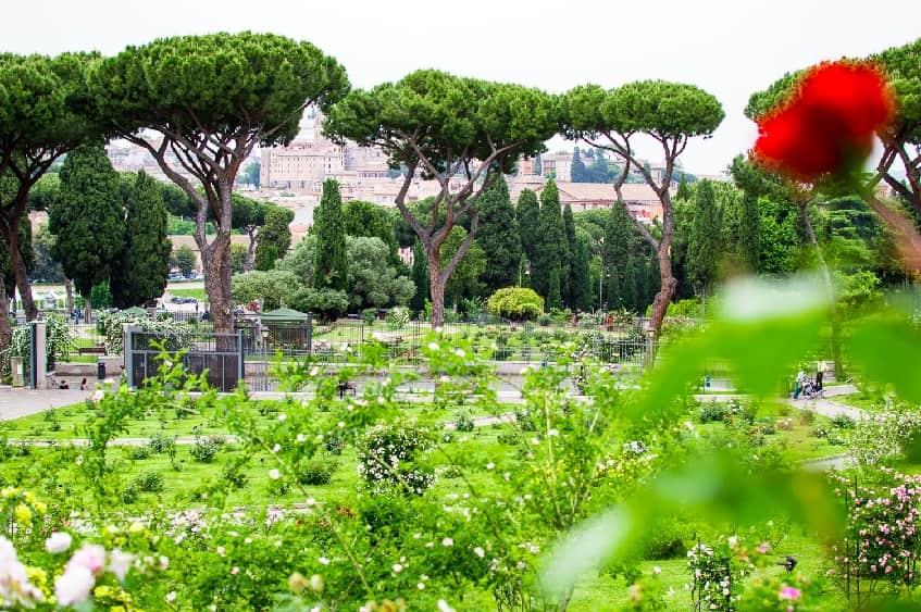 Парки и сады Рима - фото