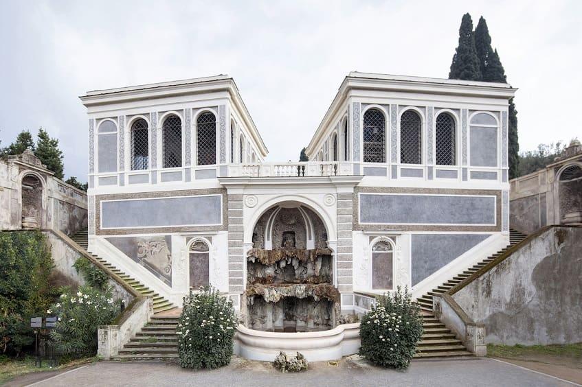 Сады Фарнезе на Палатинском холме - фото