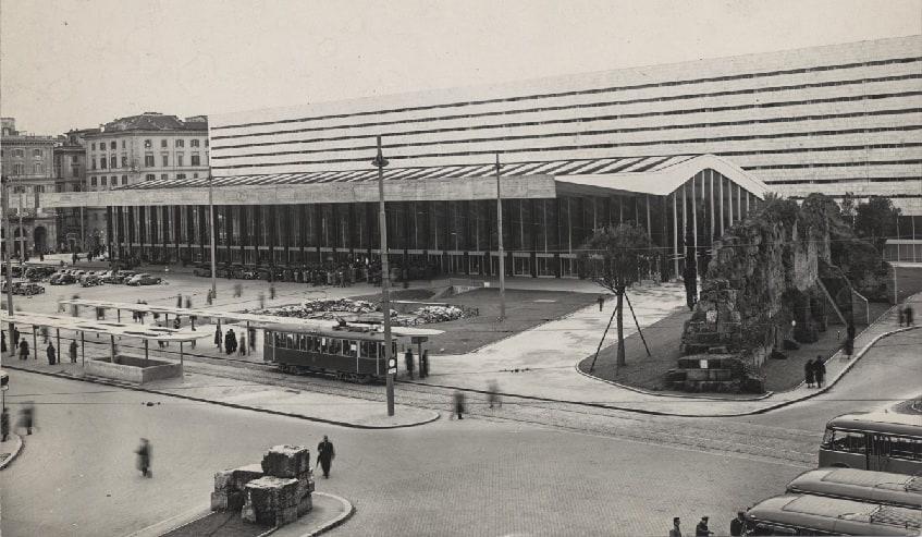История вокзала - фото