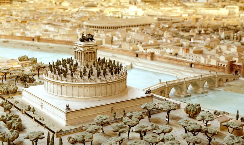 Мавзолей императора Адриана - фото