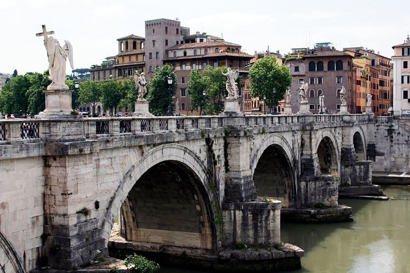 Мост Святого Ангела - фото