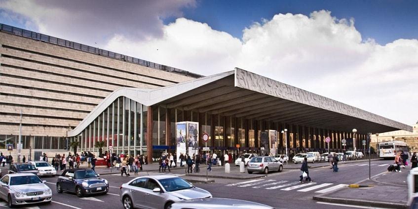 Современный облик вокзала Термини - фото