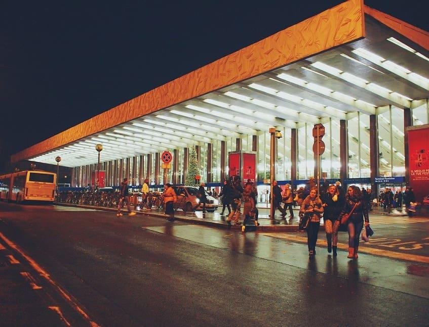 Вокзал Термини в Риме - фото