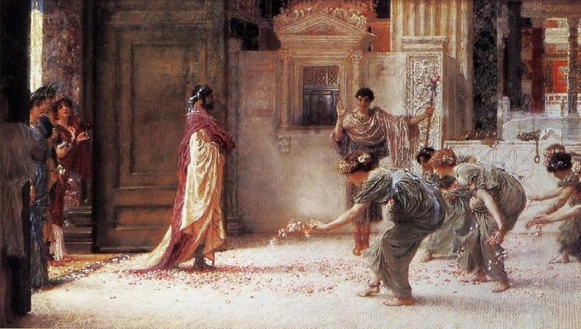 Альма-Тадема сэр Лоуренс, Каракалла, 1902 - картина