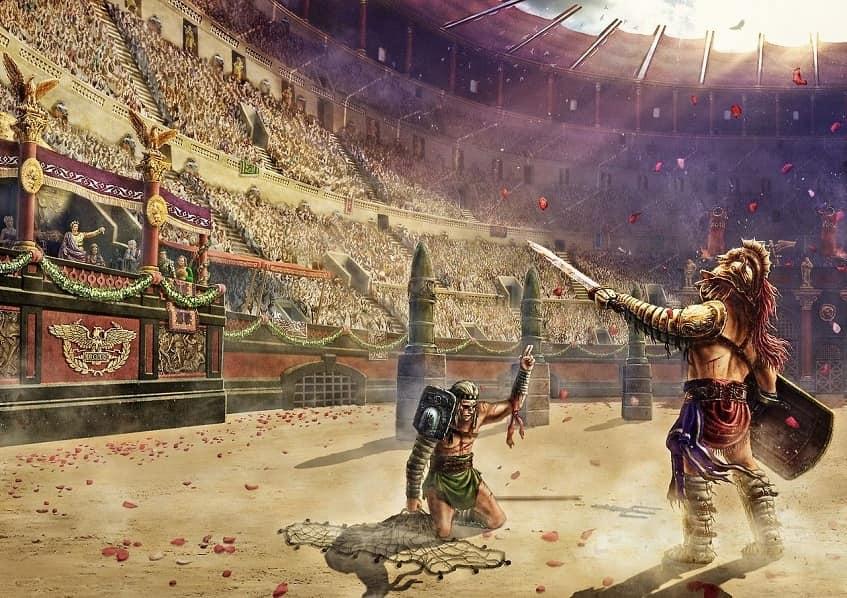 Беспощадная арена - иллюстрация