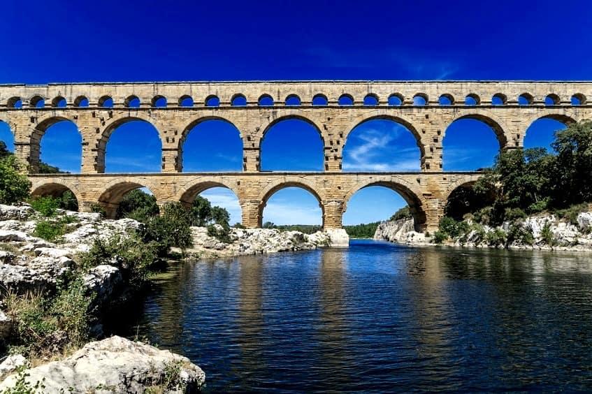 Один из акведуков - фото