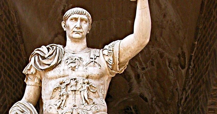Римский император Траян - фото