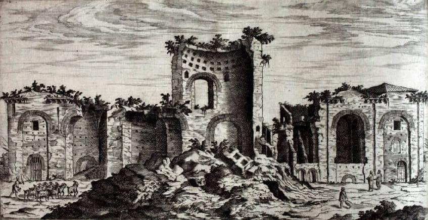 Термы Константина - иллюстрация