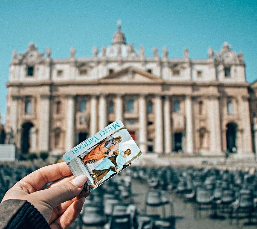 Билет в музеи Ватикана - фото