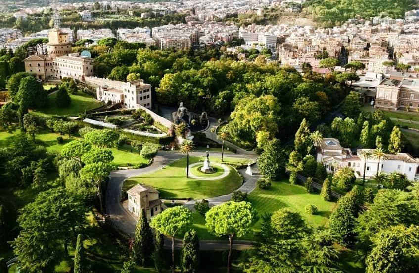 Сады Ватикана - фото
