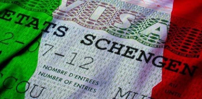 Шенгенская виза - фото