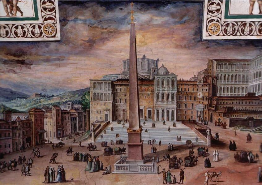 Ватикан в период Средневековья - иллюстрация