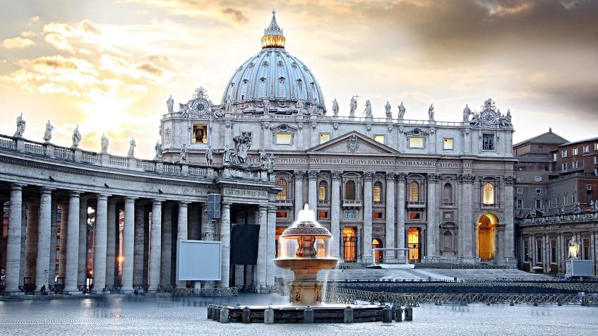 Вид на Собор Святого Петра - фото