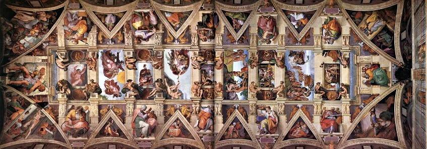Потолок Сикстинской капеллы - фото