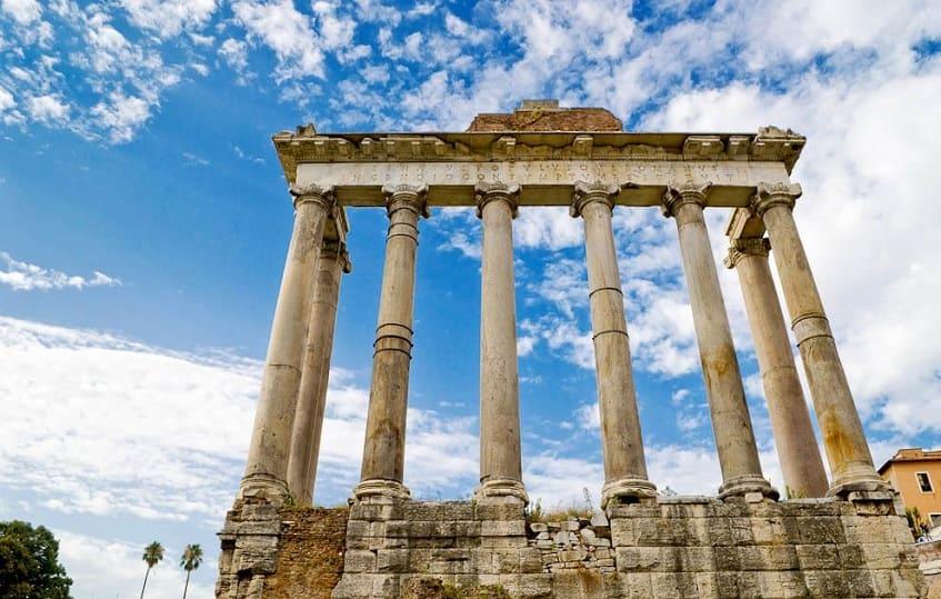 Храм Сатурна - фото