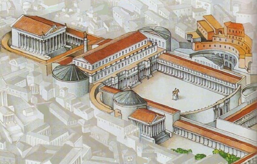Форум Траяна - реконструкция