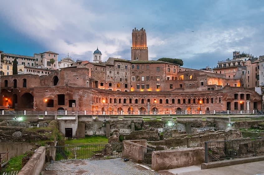 Рынок Траяна - фото