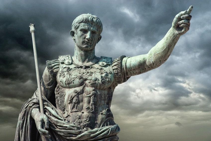 Гай Юлий Цезарь Октавиан Август - фото