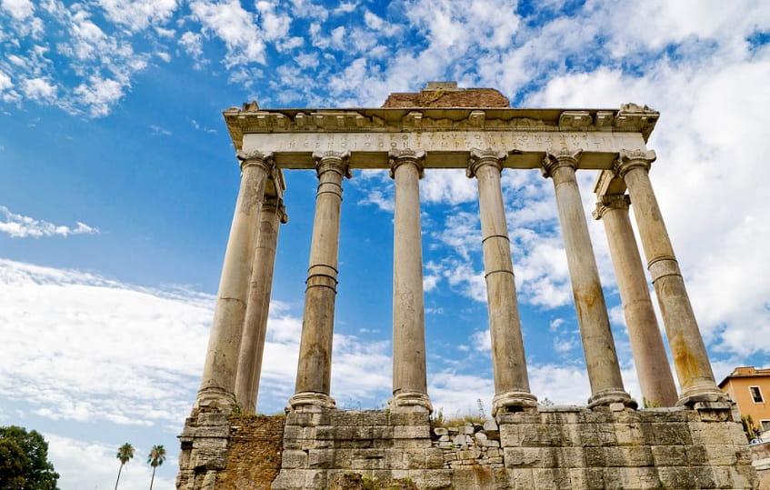 Храм Сатурна в Риме - фото