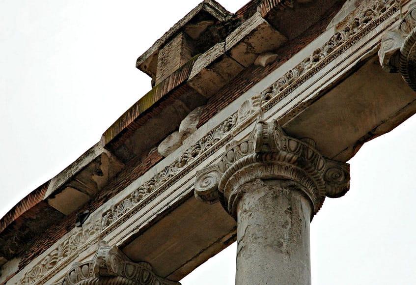 Руины храма Сатурна - фото