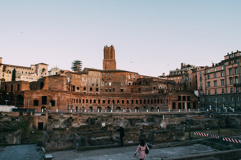 Рынок Траяна в Риме - фото